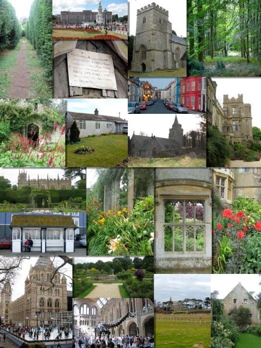 Montage of the UK - photo courtesy of Nigel Blackwell