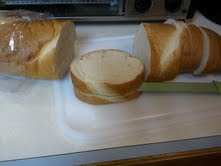 Sliced Bread for Stuffed French Toast