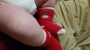 Sock Monkey Feet