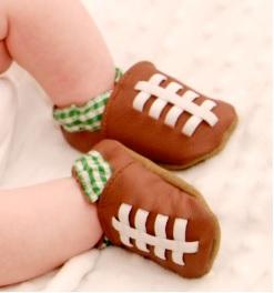 Baby Football Feet