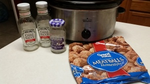Sweet & Tangy Meatball Ingredients